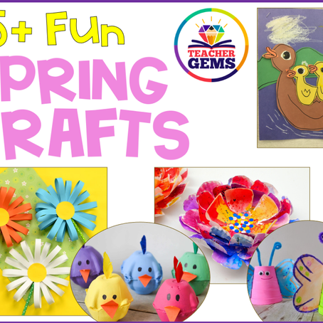 15+ Fun Spring Crafts