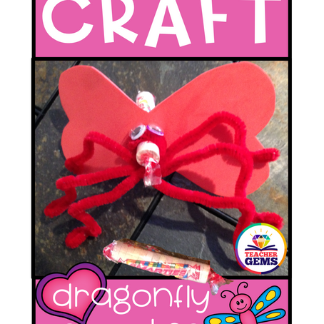 Valentine's Day Craft - with Free Template