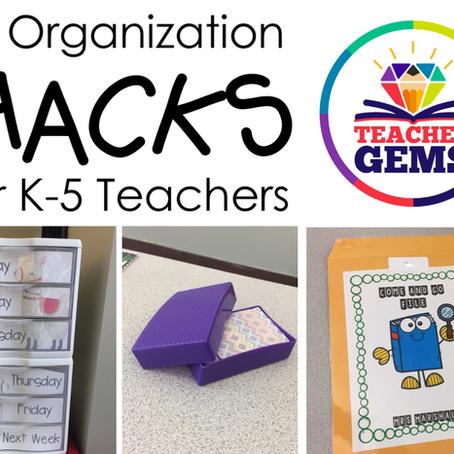 10 Organization Hacks for Teachers