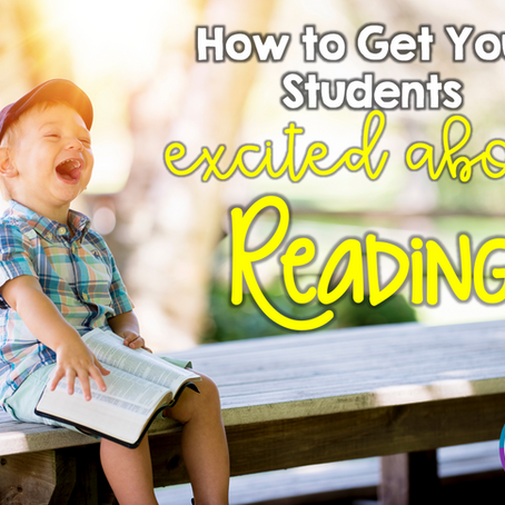 How to get your Homeschool Students Excited about Reading