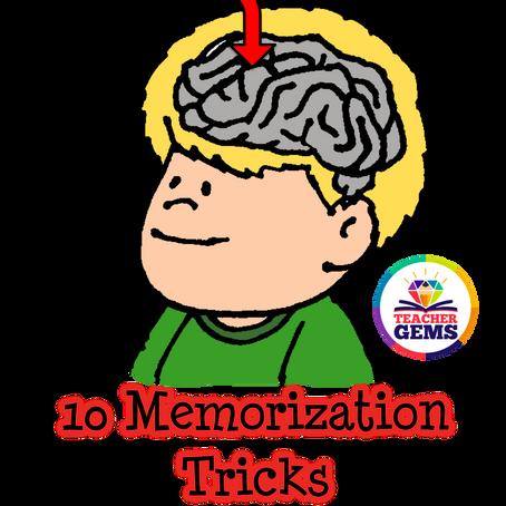 10 Tips for Teaching Memorization