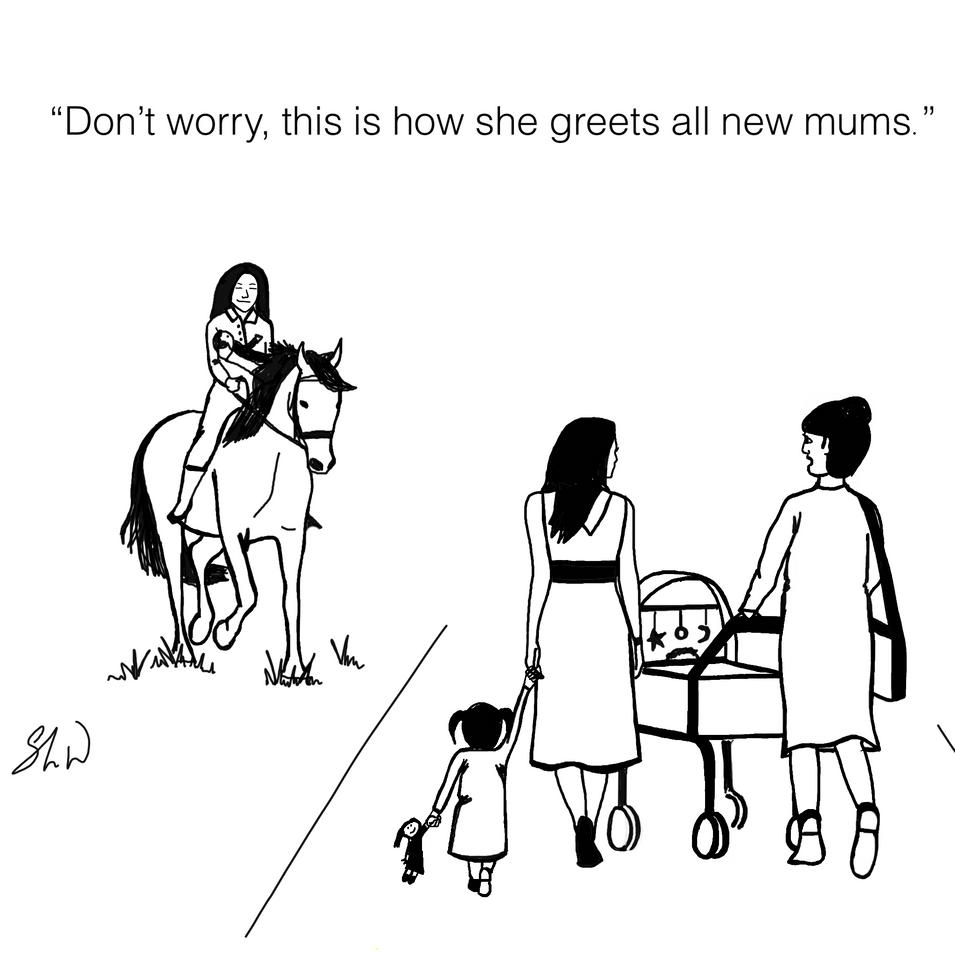 Motherhood looks like fun