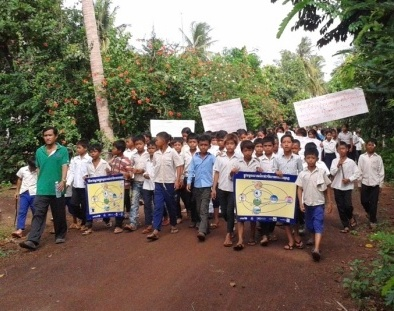 School Wash Project in Steung Trang