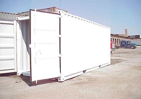 Shipping Containers, Storage Cotainers, Container Yard, Cargo, Steel Container, Ocean