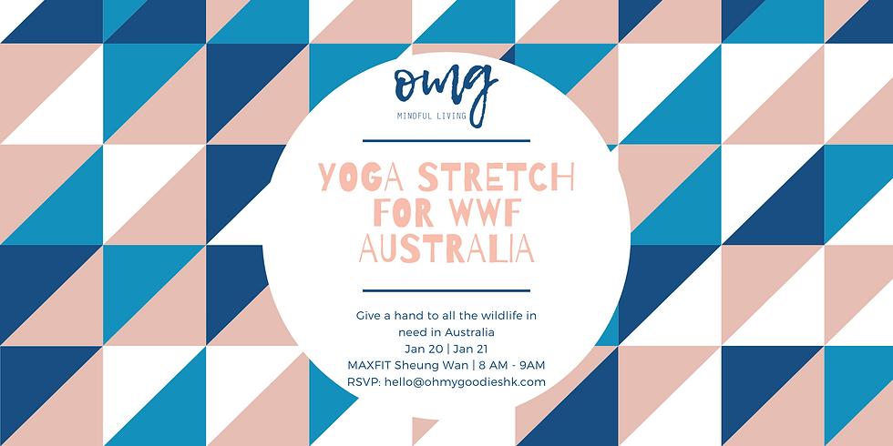 Yoga Stretch for WWF Australia