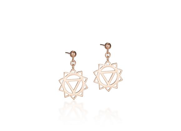Solar Plexus Chakra Earrings