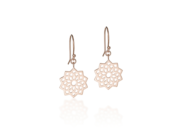 Crown Chakra Dangle Earrings