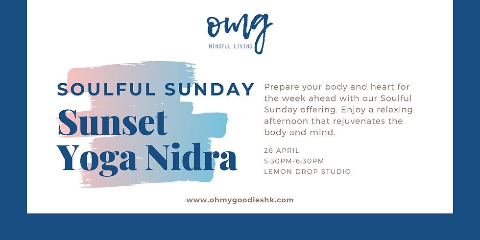 Soulful Sunday - Sunset Yoga Nidra