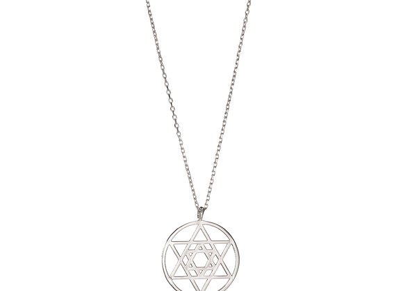 Sacred Geometry - Star of David Necklace