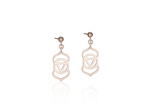 Brow Chakra Earrings