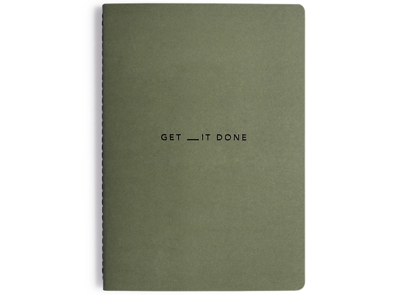 Get __it Done - A5 Minimal Notebook