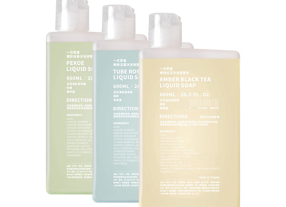TEAORY Liquid Soap ⼀⽇茶道沐浴液態皂 (600ml)
