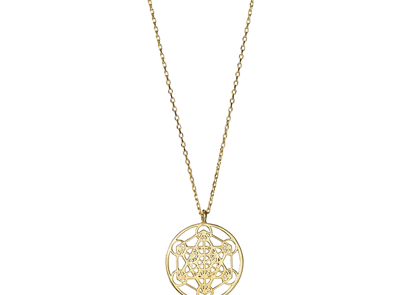 Sacred Geometry - Metatron's Cube Necklace