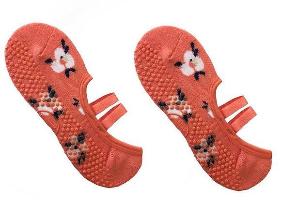 MoveActive Ballet Non Slip Grip Socks