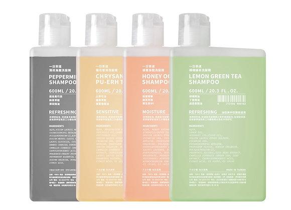 TEAORY Shampoo ⼀⽇茶道洗髮精 (600ml)