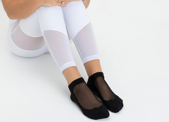 MoveActive Luxe Mesh Low Rise Non Slip Grip Socks
