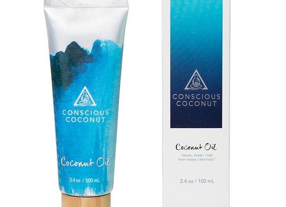 Conscious Coconut Organic Coconut Oil Tube