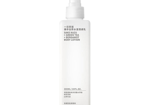 TEAORY Sake Kazu Green Tea Bergamot Body Lotion ⼀⽇茶道佛手白茶水漾潤膚乳