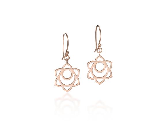 Sacral Chakra Dangle Earrings
