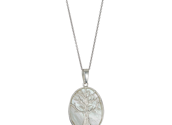 Tree Of Life Oval Necklace