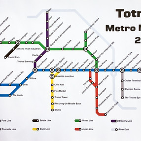 Totnes Metro Map 2045