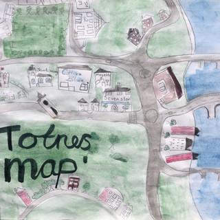 Totnes map