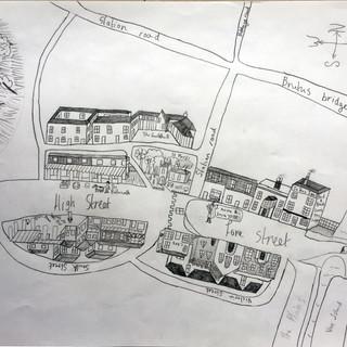 Totnes Main Street