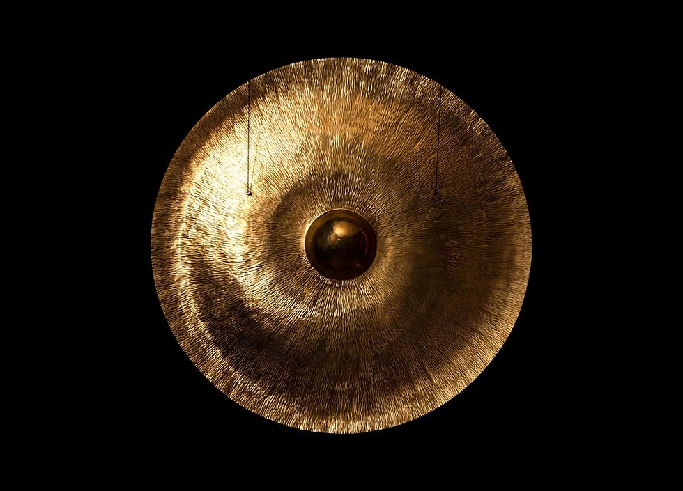 Handmade Brass Andromeda Gong