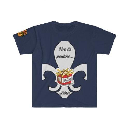 T-Shirt Vive la Poutine Libre