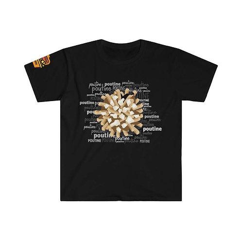 T-Shirt Poutine poutine poutine