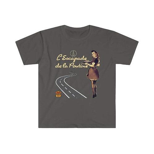 """T-Shirt L""""Escapade de la poutine"""