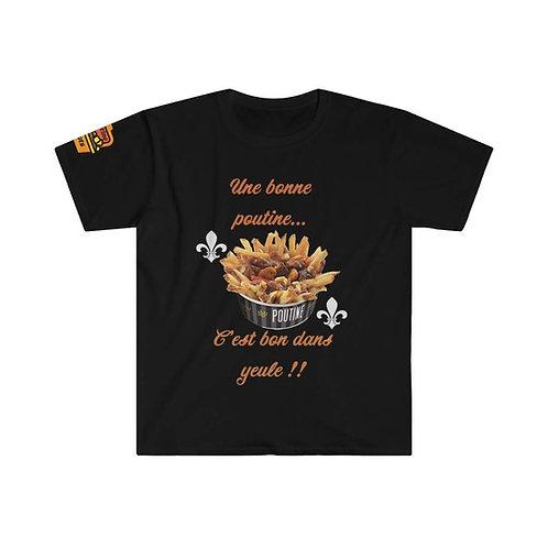 T-Shirt Une bonne Poutine