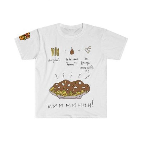 T-Shirt Fabrication d'une Poutine