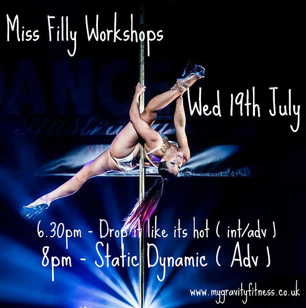 Miss Filly Pole workshop London