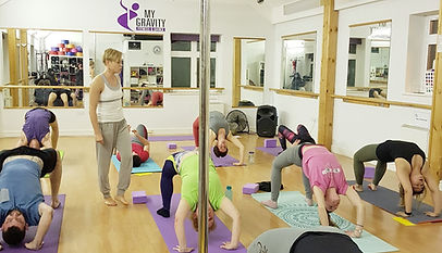 My Gravity Fitness and Dance Power Yoga Classes in London