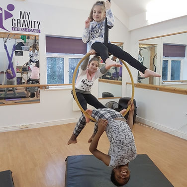 My Gravity Fitness and Dance Kids Aerial Classes London