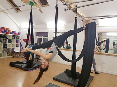 My Gravity Fitness and Dance Aerial Silks Classes London