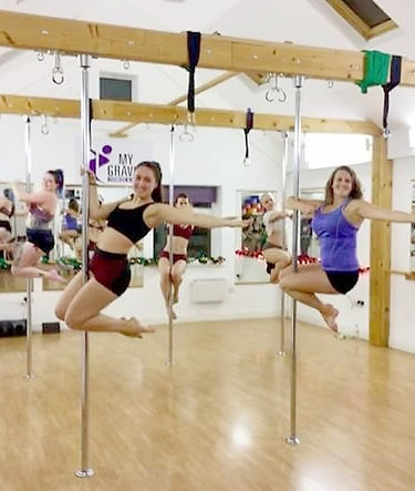 My Gravity Fitness and Dance Pole Dancing Classes London
