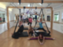 My Gravity Fitness and Dance Hen parties, Birthday Parties, Aerial party