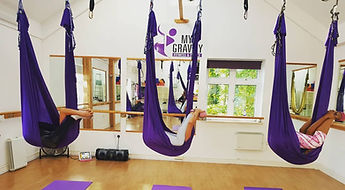 My Gravity Fitness and Dance Antigravity Yoga Classes London