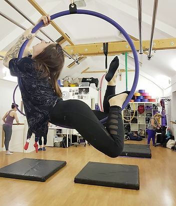 My Gravity Fitness and Dance Aerial Hoop Classes London