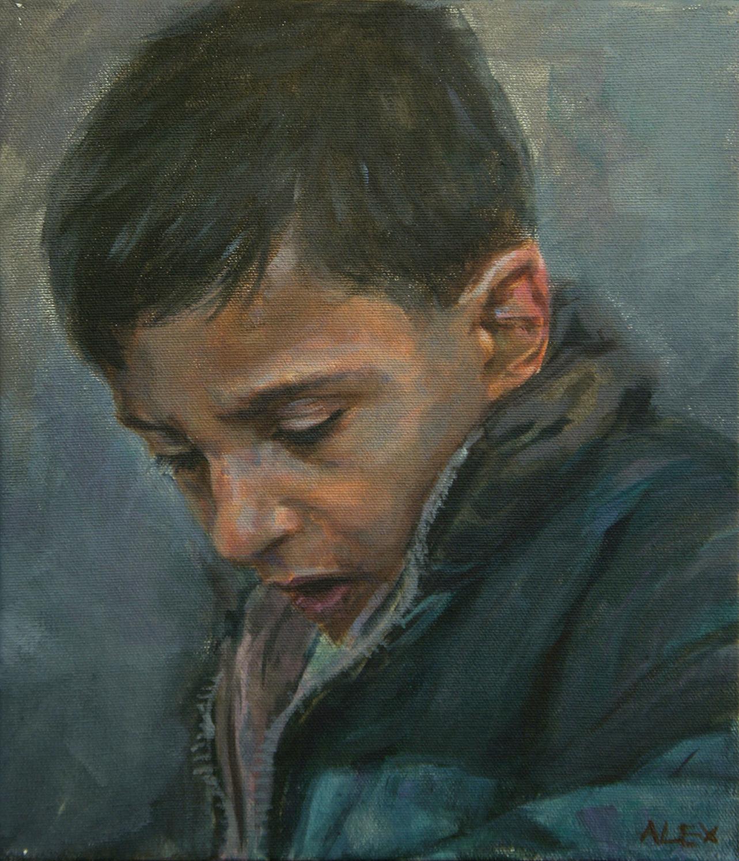 Palestine boy in Jerusalem (sold)