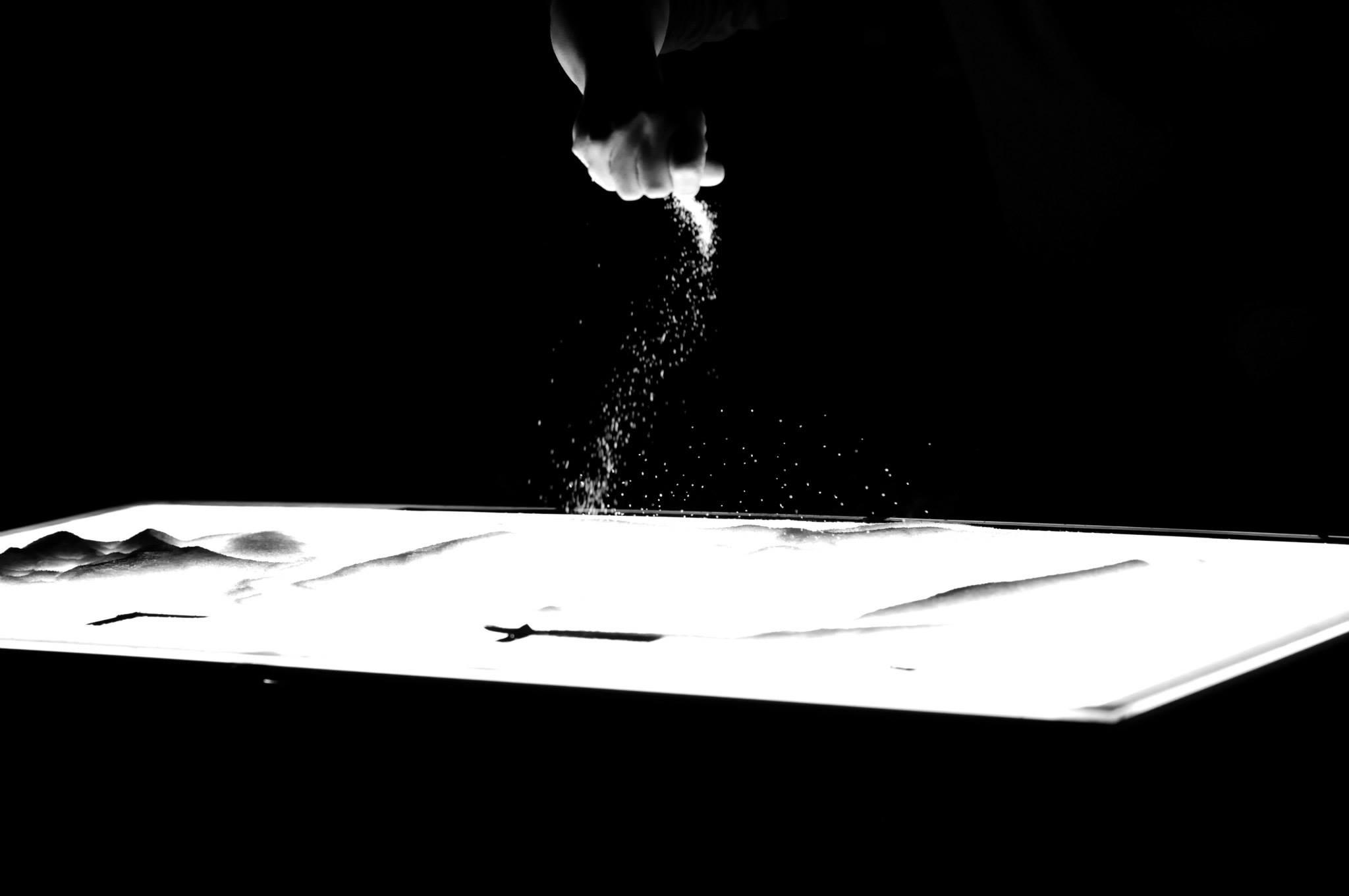 Sand Art (Live performance) 2014