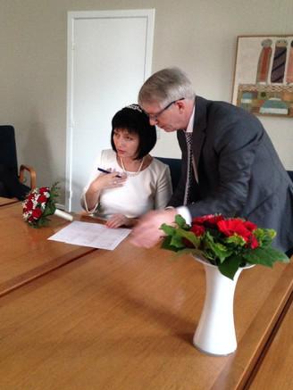 Danish Ukrainian marriage