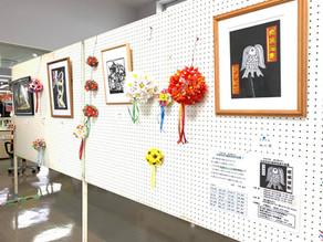 「太田市切り絵研究会」による切り絵作品の展示を開催