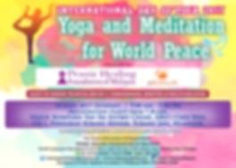 Yoga and Meditation For World Peace