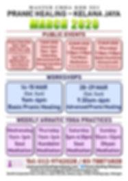 Kelana Jaya Schedule 2020 March