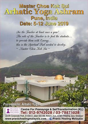 Master Choa Kok Sui Arhatic Yoga Ashram Pune India