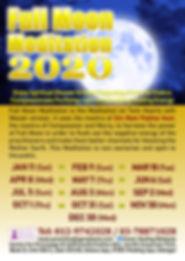 Full Moon Meditation 2020 Malaysia