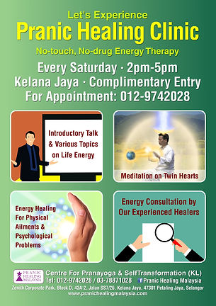 Pranic Healing Clinic Kelana Jaya Centre
